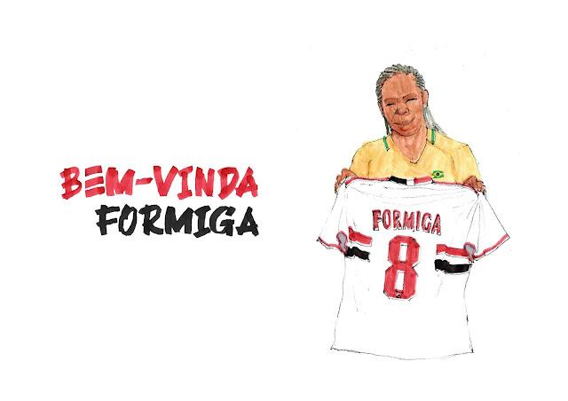 Formiga retorna ao São Paulo após 21 anos