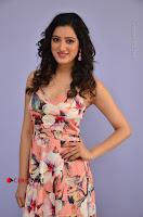Actress Richa Panai Pos in Sleeveless Floral Long Dress at Rakshaka Batudu Movie Pre Release Function  0023.JPG