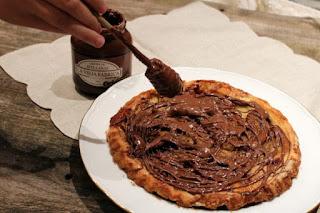 Tarta Tarín con Crema de Avellanas