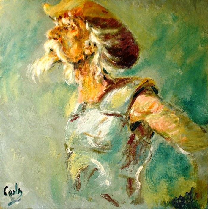 Современный бразильский художник. Carlos Esteban Resano Vasilchik