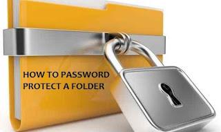 Cara Mengunci Folder dengan Password