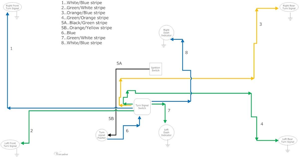 66 Mustang Turn Signal Wiring Diagram Solenoid Switch ...