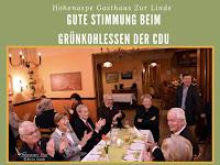 CDU trifft sich zum Grünkohlessen in Hohenaspe
