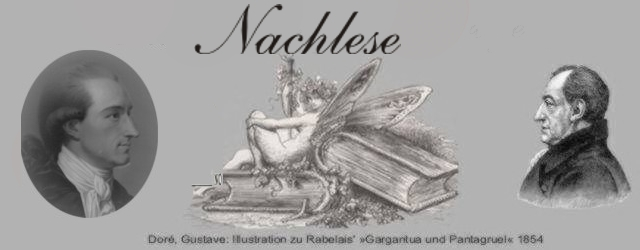 Nachlese: Zahme Xenien