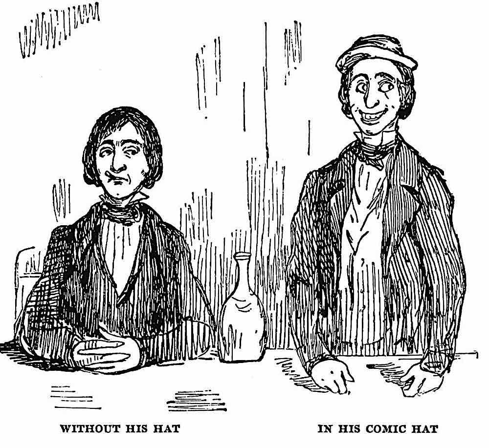 a William Makepeace Thackeray cartoon