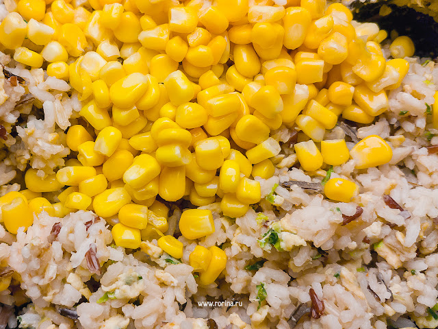 Кукуруза с яйцом по-китайски: фото