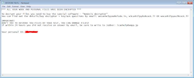 .WECANHELP File Virus