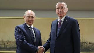 الرئيس أردوغان يلتقي بوتين في إسطنبول (فيديو)