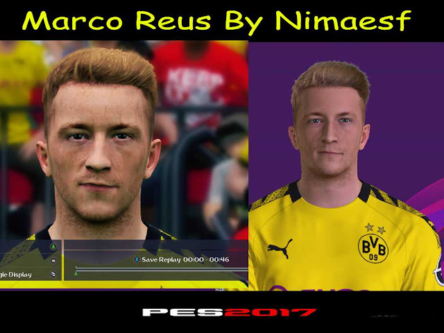 PES 17 M. Reus Face By Nimaesf