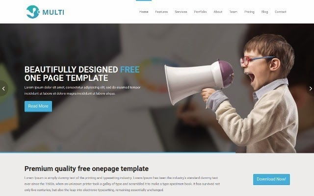 Multi - Responsive Business Template