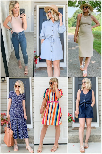 Affordable end of summer outfit round up