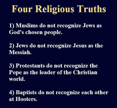 Funny Four Religious Truths Picture