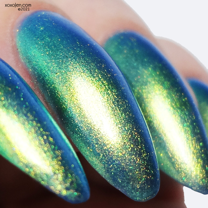 xoxoJen's swatch of KbShimmer I Can Sea Clearly Now