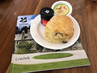 Cotehele scone