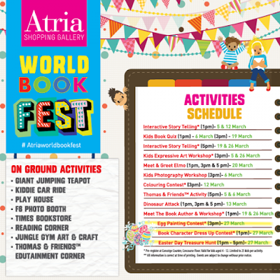 Atria World Book Fest March 2016