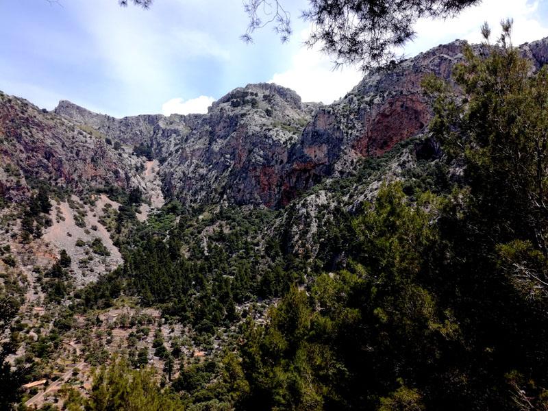 Foto: Il paesaggio lungo tratti del percorso verso il Coll de l'Ofre - Maiorca
