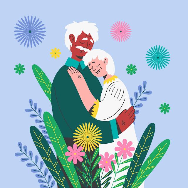 amor de pareja matrimonoio feliz con Dios