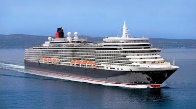 Cunard Announces 2021 Cruise Itineraries for Queen Mary 2, Queen Elizabeth (pictured) and Queen Victoria, mediterranean, Transatlantic Alaska, world cruise