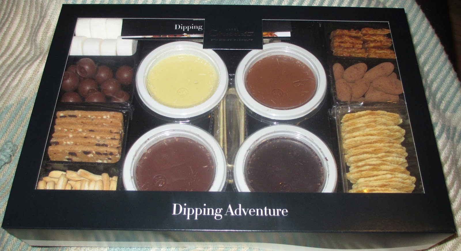 FOODSTUFF FINDS: Chocolate Dipping Adventure (@HotelChocolat) [By