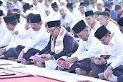 Panglima TNI Shalat Idul Adha 1440 H Bersama Ribuan Prajurit