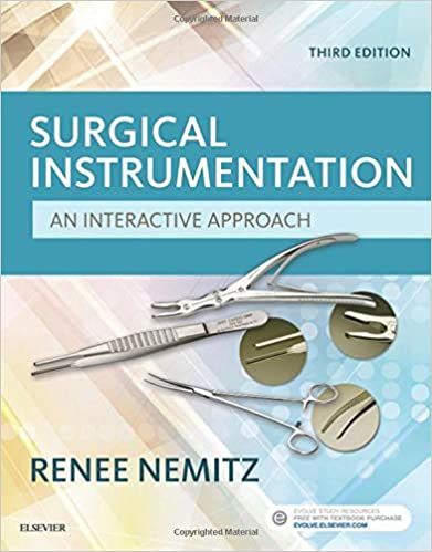 Surgical Instrumentation An Interactive Approach  3rd Ed - WWW.VETBOOKSTORE.COM