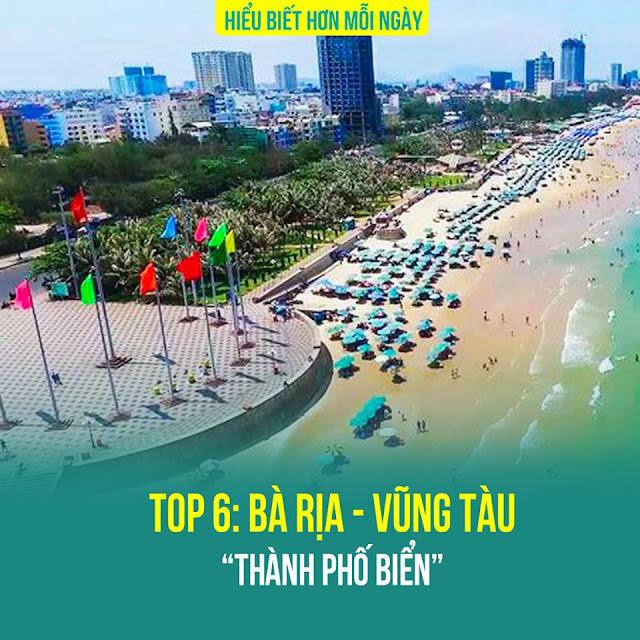 Top 6: Bà Rịa- Vũng Tàu – Thành phố biển