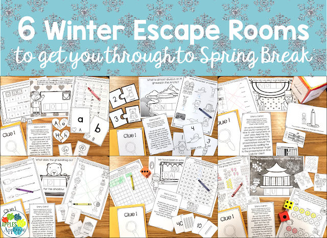 6 Winter Escape Rooms to Get You Through to Spring Break | Apples to Applique