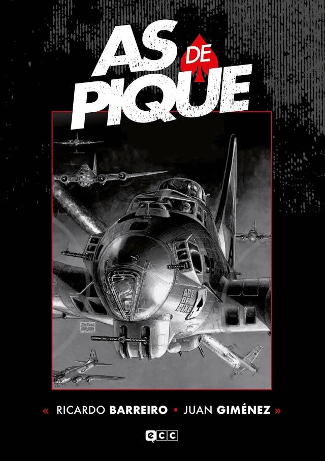 As de Pique, de Juan Giménez y Ricardo Barreiro. Reseña