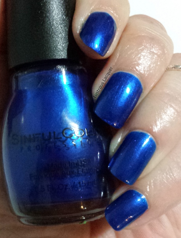 Sinful Colors - Midnight Blue - <em>Lustrous Lacquer</em>