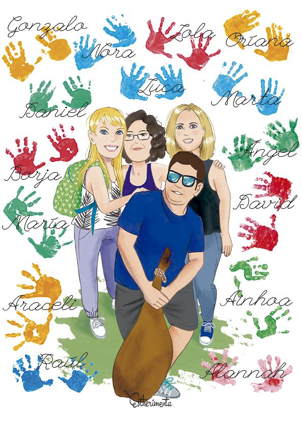 ilustración maestros estherimenta