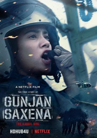 Gunjan Saxena The Kargil Girl 2020 WEB-DL 300Mb Hindi Movie Download 480p