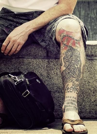 Top 6 Leg Tattoos For Men Gallery Fashion And Tattoos