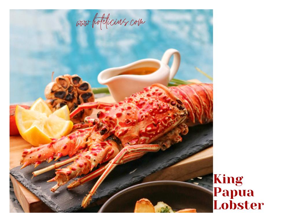 King Papua Lobster Hyatt Regency Yogyakarta