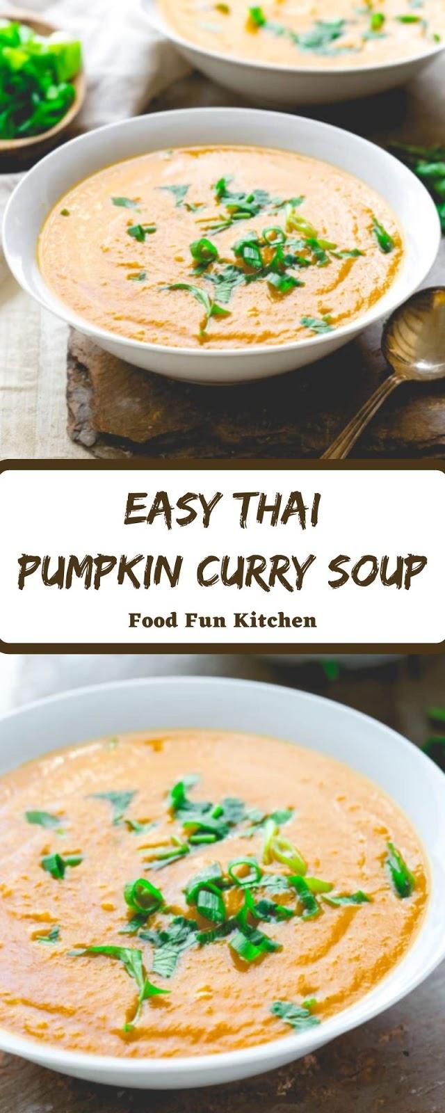 EASY THAI PUMPKIN CURRY SOUP