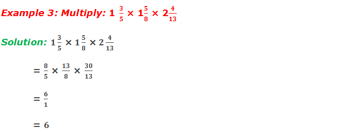 Example 3: Multiply