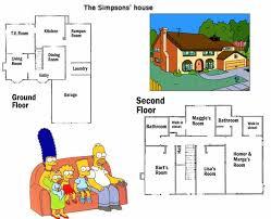 Plano De La Casa De Los Simpson Mundo Ingenieril - Planos-de-casas-en-l