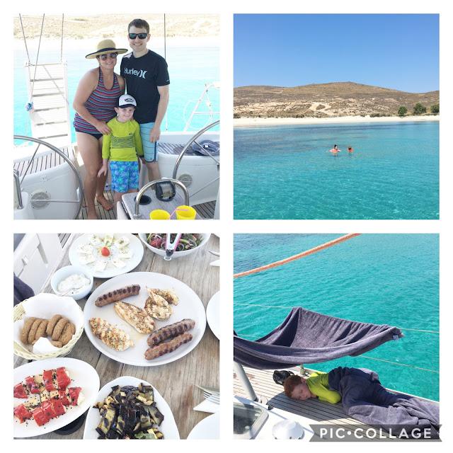 Private sailing trip in Mykonos Greece