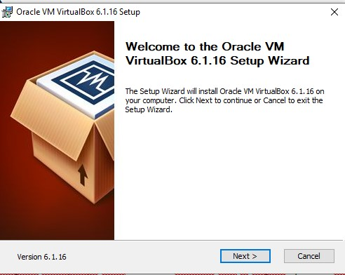 Setup VM VirtualBox