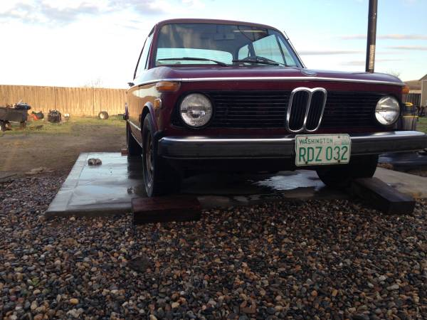 Daily Turismo: Tiighten Your Purse Strings: 1974 BMW 2002 Tii
