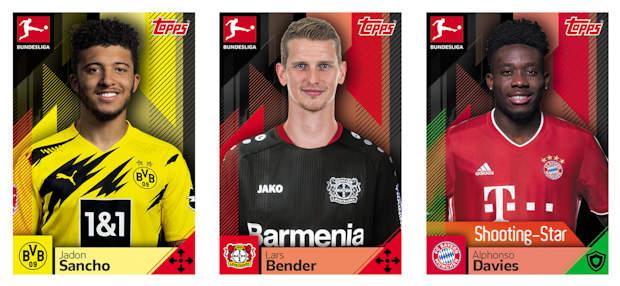 Oliver Baumann TOPPS Bundesliga 2019//2020 Sticker 125
