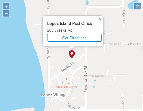 Lopez Island Post Office