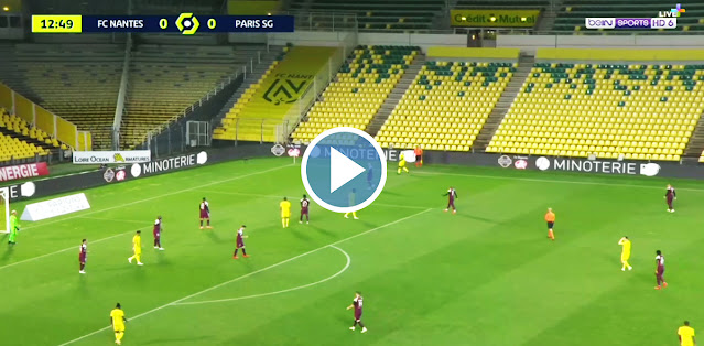 FC Nantes vs PSG Live Score
