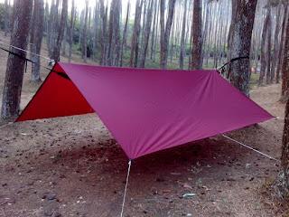 Flysheet tenda