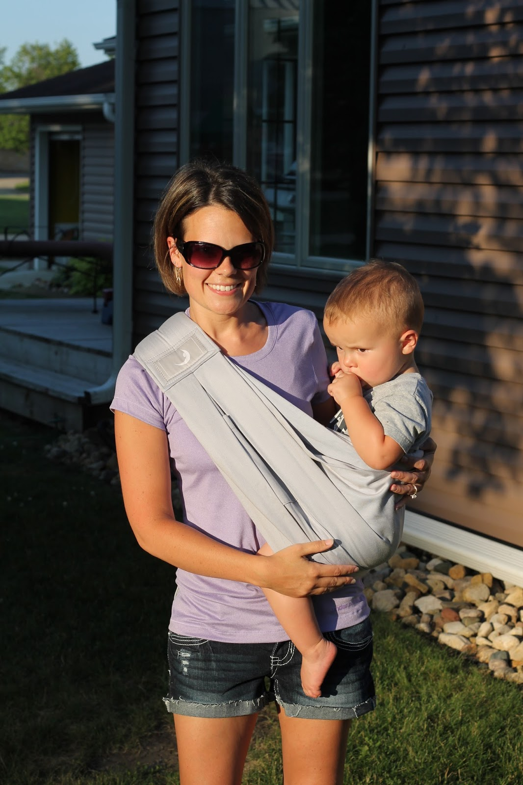 b11eeabfec8 TheBabaSling Baby Carrier by Joovy ~ Review