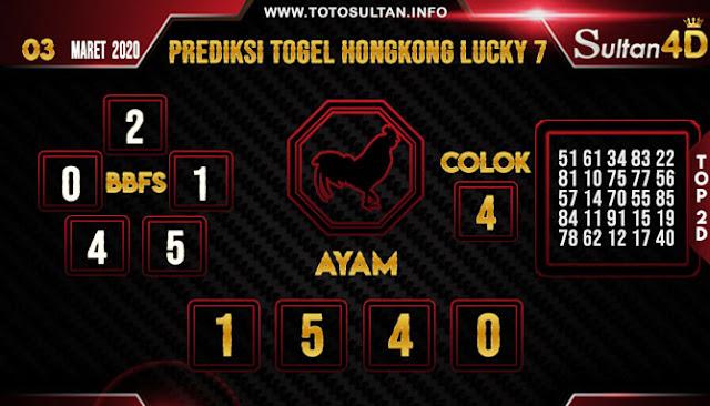 PREDIKSI TOGEL HONGKONG LUCKY 7 SULTAN4D 03 MARET