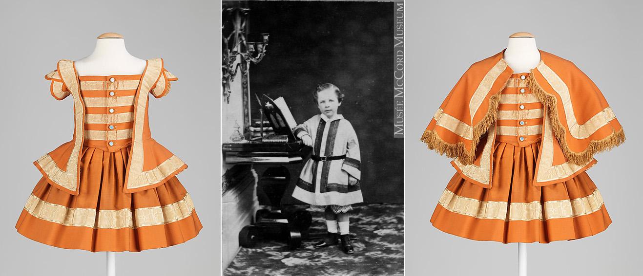 0d2c60e5ed149 ont influencé la mode enfantine européenne via le goût pour les panoplies.  Musée Victor Hugo