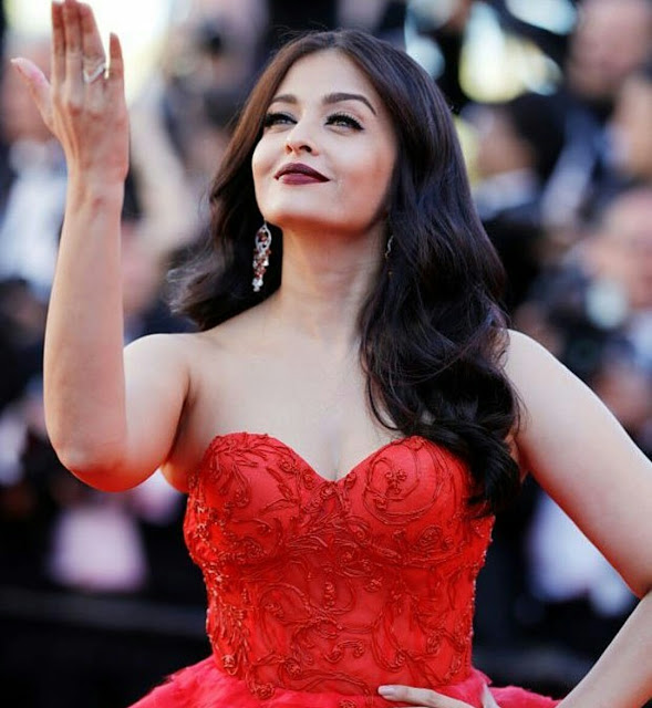 Aishwarya Rai In Ralph and Russo At Cannes 2017
