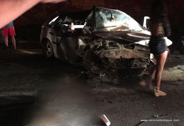 Duas pessoas morrem em grave acidente na BR-104, no município de Taquaritinga