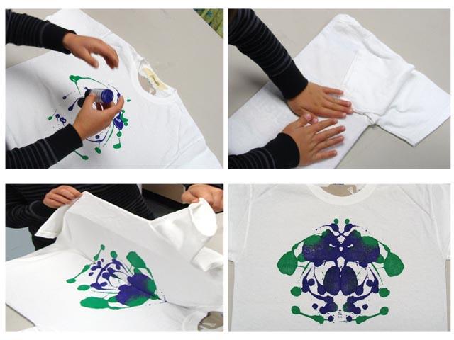 Ink Blot T Shirt Party 50 Kids Shirts