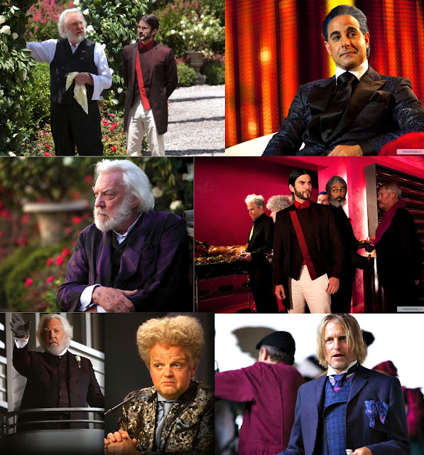 The Hunger Games Fashion - Capitol City Men Costumes